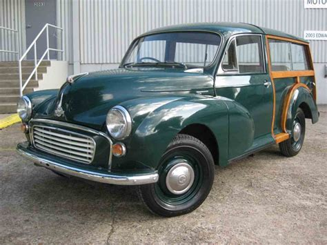 For Sale In Usa by 1956 Morris Minor 1000 2dr Traveler For Sale Classiccars