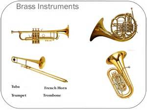 Brass Musical Instruments Names