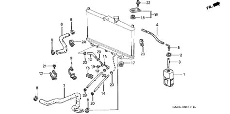Honda Accord Cooling System Diagram Auto