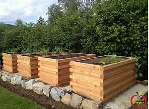 Bac Bois Potager : bacs en bois pour potager en permaculture ma passion du verger ~ Melissatoandfro.com Idées de Décoration