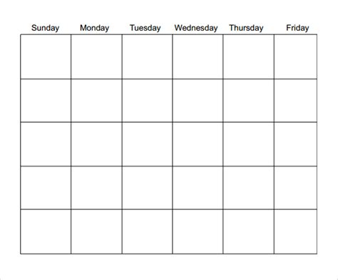 blank calendar template pdf 16 sle blank calendar templates to sle templates
