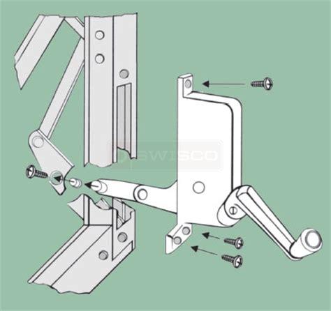 install  replacement crank operator swiscocom