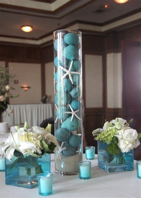 Center Table Decorations For Quinceaneras by 25 Cute Sea Wedding Theme Ideas On Pinterest Beach