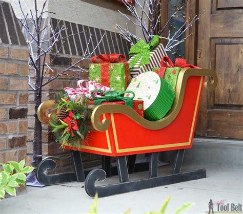 diy santa sleigh  tool belt