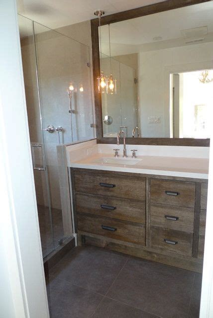 remodel kitchen cabinets glossy rustic bathroom 2 with white walls and tile 1829