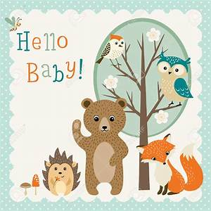 Fox clipart woodland baby shower - Pencil and in color fox ...