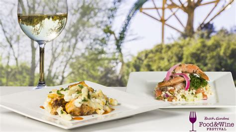 busch gardens food and wine busch gardens reveals menu for annual food wine festival