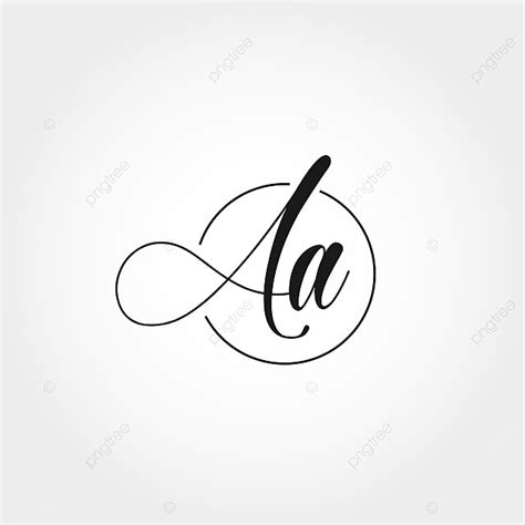 initial letter aa logo design template     pngtree