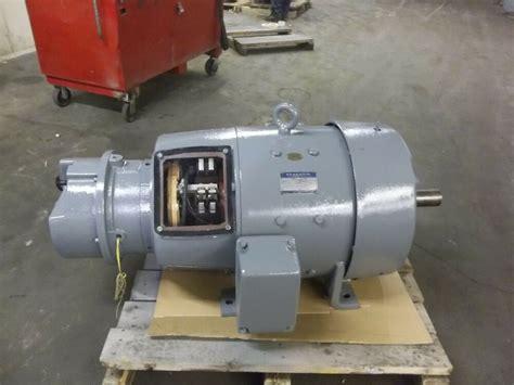 v brake bremsbeläge ge 5cd445e563 50 hp dc motor 550 volts with stearns brake ebay