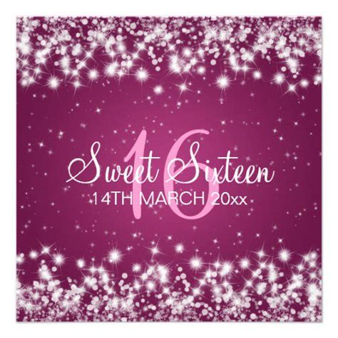 sweet sixteen invitation backgrounds