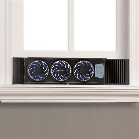 window fan with filter bionaire bwf0522e bu thin window fan electronic large