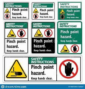 Safety Instructions Pinch Point Hazard Keep Hands Clear