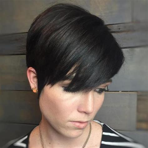 Pixie Hairstyles With Bangs by Pixie Haircuts With Bangs 50 Terrific Tapers