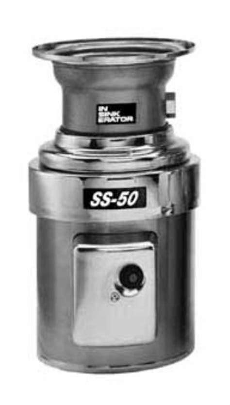 insinkerator ss 50 5 mrs complete disposer pkg sink mount