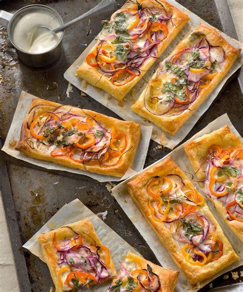 recette cuisine au four tarte poivrons oignons et coriandre recette gourmand