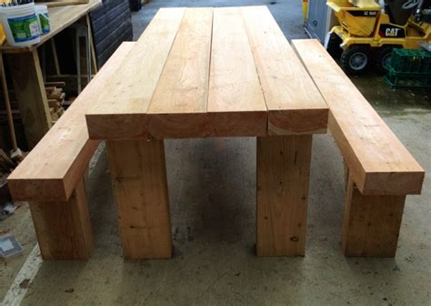How To Decking by Sleeper Tables Timber Wales