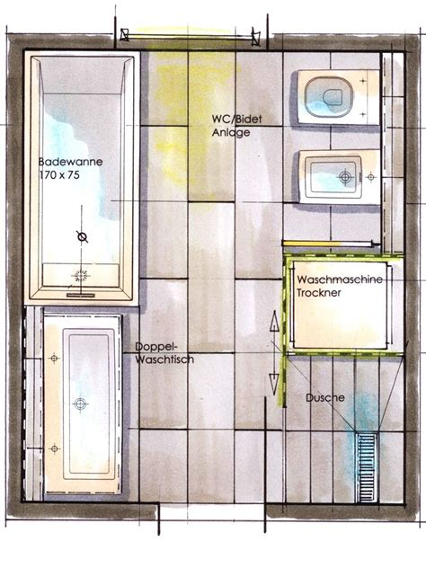 Badezimmer Mit Wanne Und Dusche by Die Besten 25 Badezimmer Quadratmeter Ideen Auf