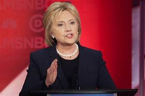 In debate, Hillary Clinton boasted that she is supported ...