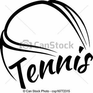 Tennis Ball Clipart Black And White | Clipart Panda - Free ...