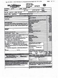 ripoff report bill39s transmissions complaint review With transmission repair invoice