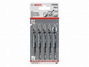 Lame Scie Sauteuse Bosch : bricoland consommables machines lame de scie sauteuse ~ Dailycaller-alerts.com Idées de Décoration