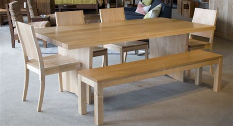 custom maple dining table the joinery portland oregon