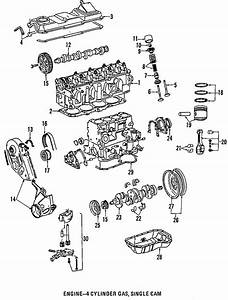 Volkswagen Jetta Engine Crankcase Cover Gasket Set  Engine
