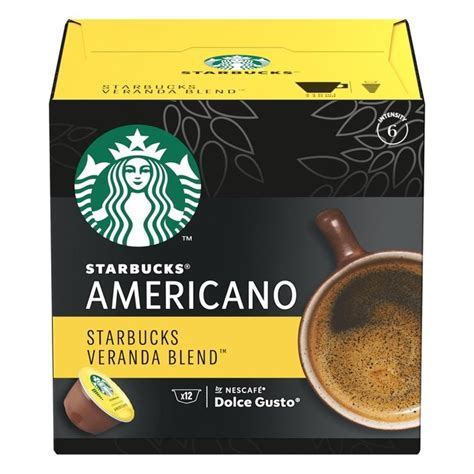 Verismo machine works with starbucks verismo pods. STARBUCKS Veranda Coffee Pods by Nescafe Dolce Gusto | Ocado