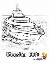 Ship Coloring Yacht Boat Ft Colorable Boats Yescoloring Cool sketch template