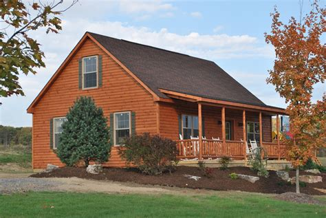 log cabin home pre manufactured homes amish built cabins log cabin