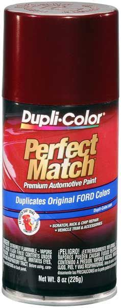 ford lincoln mercury dark toreador red auto spray paint