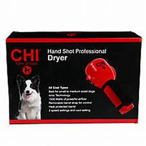 chir hand shot professional dryer dog brushes combs With petsmart dog dryer