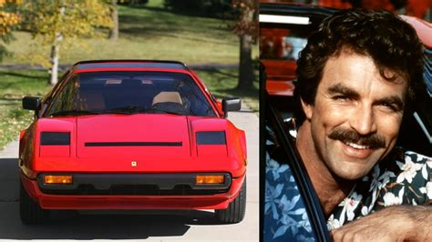 New Magnum Car by Greatest Tv Cars Part 2 Magnum P I 308 Gts
