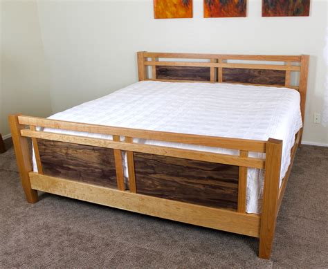 king size bed  wood whisperer