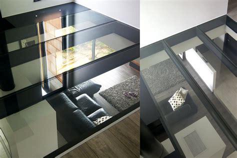 dalle de sol chambre dalle de sol en verre feuilleté dalle de verre righetti