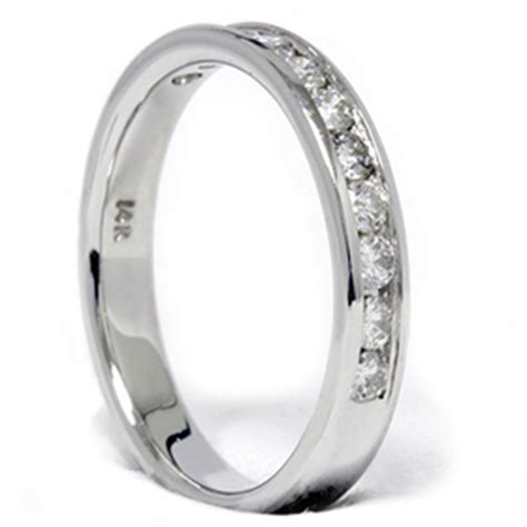 12ct 14k White Gold Diamond Wedding Guard Ring Band  Ebay. Leaves Wedding Rings. Bezel Set Diamond Engagement Rings. Baby Hand Rings. Mens Outdoor Wedding Rings