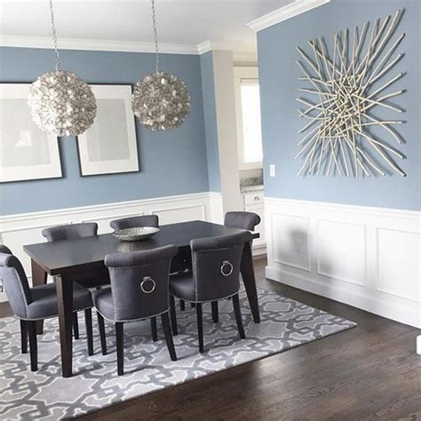 modern coastal dining area with wainscoting walls that