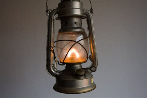 vintage gas lantern german gas l by thethingsthatwere
