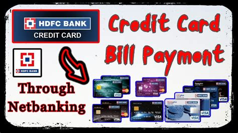 Hdfc also offers offline payment modes for the payment of hdfc credit card bill through cash and cheque payment. Online Bill Payment-Credit Card - HDFC Bank | Make HDFC Bank Credit Card Payment - YouTube