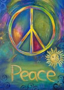 62 best PEACE SIGNS images on Pinterest | Hippie art ...