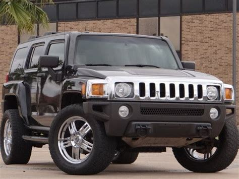 car manuals free online 2007 hummer h3 auto manual buy used 2007 hummer h3 manual 5 speed 20 quot wheels off road tires must sell no reserve in