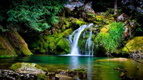 nature landscape waterfall  wallpapers hd desktop  mobile backgrounds