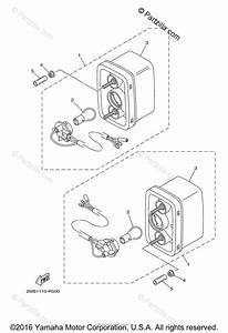 Yamaha Side By Side 2016 Oem Parts Diagram For Taillight