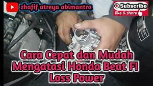 Cara Mengatasi Honda Beat Fi Brebet