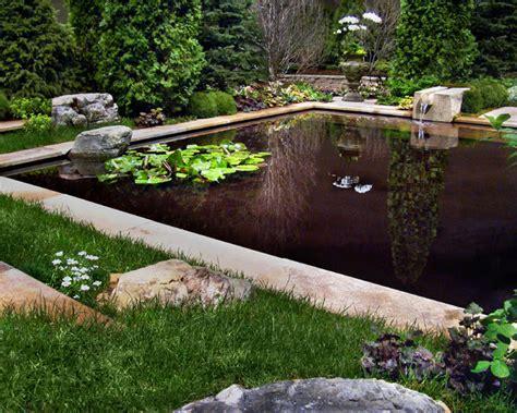 Formal Water Garden  Mediterranean  Pool  By Laughing