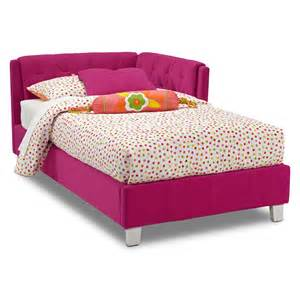 jordan twin corner bed american signature furniture