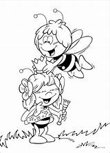 Maya Bee Coloring Pages Movie Trailers sketch template