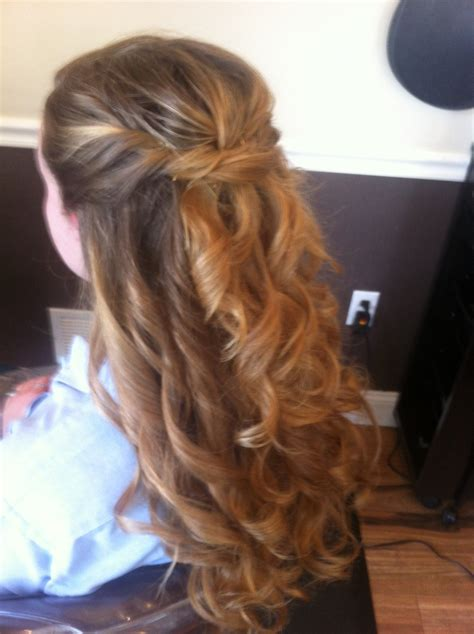 Prom Hairstyles Half Updos by Prom Half Updo Prom Updo And Prom