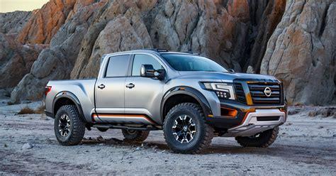 nissan tundra nissan titan warrior pickup goes bold at detroit auto show