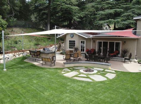 Backyard Sun Shades by Backyard Shade Sails Landscaping Network
